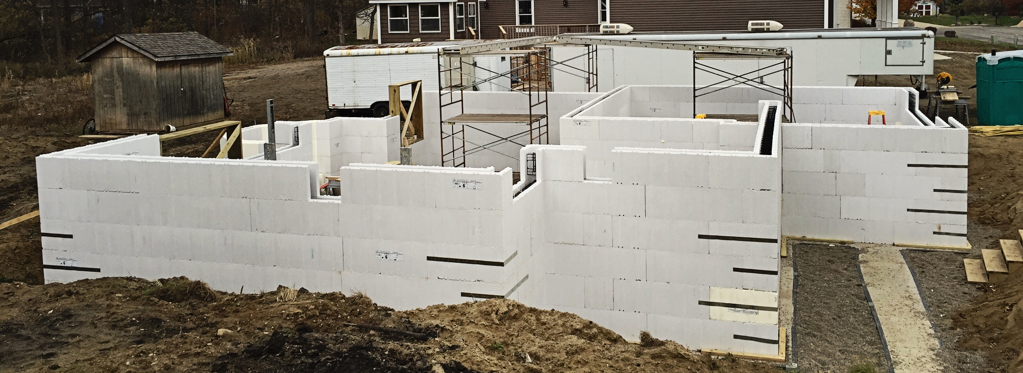 Advantage icf system plasti fab usa for Insulated concrete forms pricing