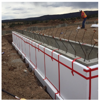 Construction applications plasti fab usa - Exterior foundation insulation panels ...